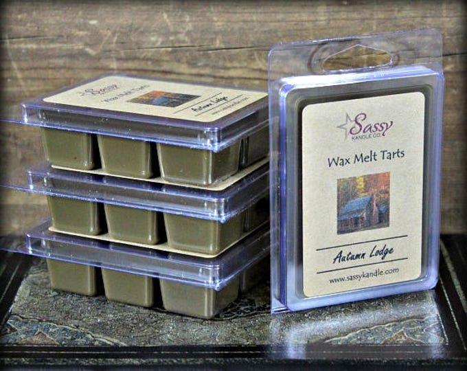 AUTUMN LODGE (Yankee Candle Type)   Wax Melt Tart   Sassy Kandle Co.