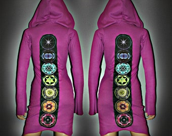 CHAKRA DRESS // Eco-Friendly Bamboo Fabric