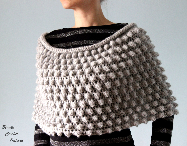 Crochet poncho pattern womens crochet poncho pattern zoom bankloansurffo Images
