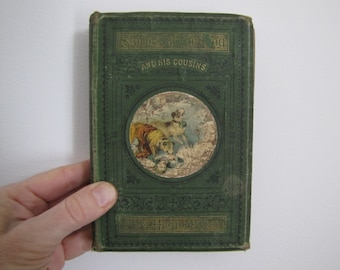 Old Book Stories Of The Dog And His Cousins Hugh Miller 1876 Book London Book Collector Antique Book Collectable