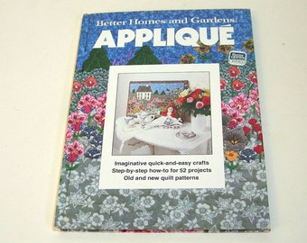 Applique, Qulit Patterns Better Homes And Gardens Book