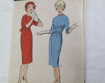 Vintage Vintage 50s ANNE FOGARTY Camise Dress Sewing Pattern sz 14 B34