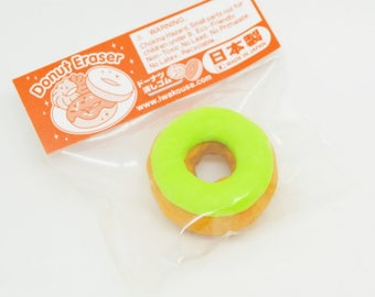1 Eraser pistachio donut pastry