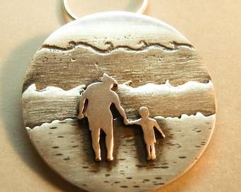 Colgante personalizado, a partir de una foto, Regalo Personalizado, Retrato de plata