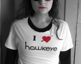 I *heart* Hawkeye Kate Bishop Cosplay T-Shirt