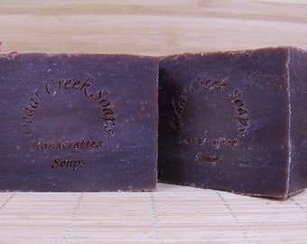 Chocolate Lovers Soap - Chocolate Cold Processed Soap~ Organic, All Natural, Vegan Soap