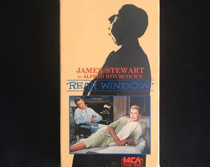 Alfred Hitchcock's REAR WINDOW 1982 Vintage Movie VHS