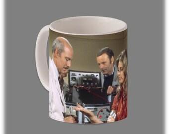 The Six Million Dollar Man Coffee Cup #1087