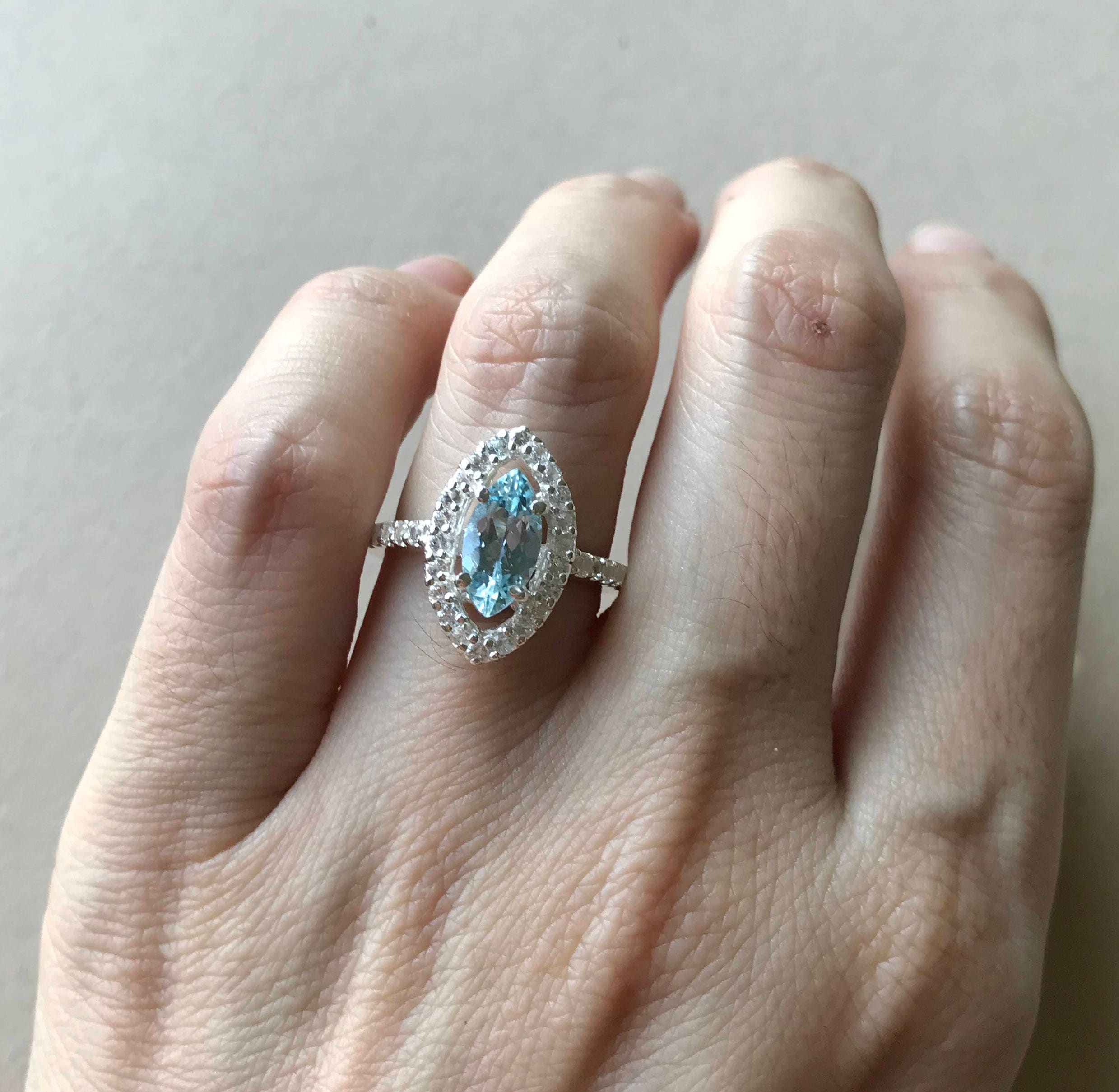 aqua ring new for tiffany aquamarine img wedding diamond marine rings newlyweds