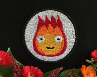 Howl's Moving Castle- Calcifer, Charm, Patch
