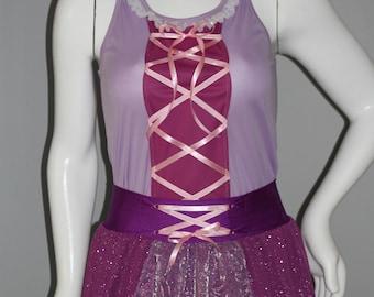 Rapunzel Inspired Running Set
