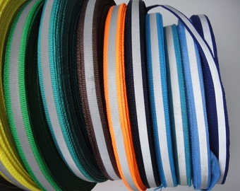 3/8'' 1CM Reflective Ribbon Sew on Reflective Tape 17colors