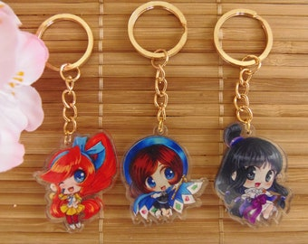Ace Attorney Acrylic Charms