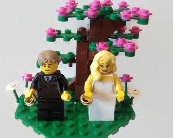 Wedding Cake Topper Gift Customised Bride And Groom
