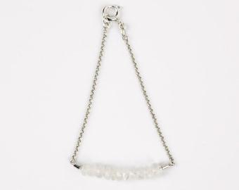 JANNA - silver bracelet with Moonstone