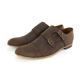 Monk Vagabundo Shoes in Chocolate