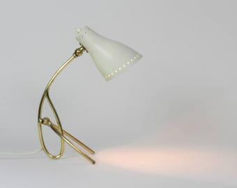 Style de stilnovo Mid Century moderne lampe de bureau italien, Arteluce,