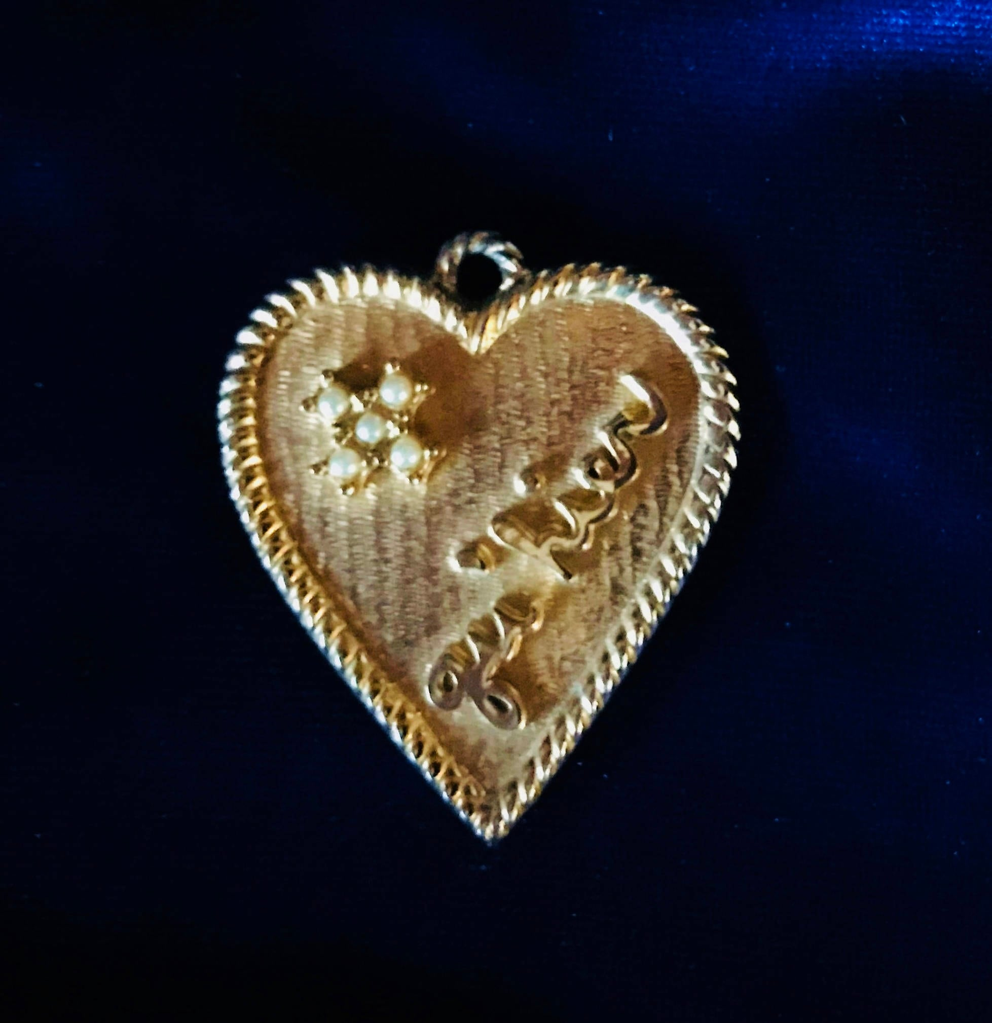 hearts bronze jewelry jewellery costume pendant collections accessories img