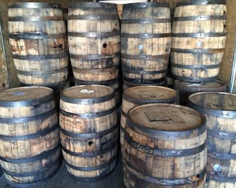 Jim Beam Bourbon Oak Whiskey whisky Barrels Authentic Buffalo Trace Wine Barrel full size SouthEast / Midwest Delivery 99
