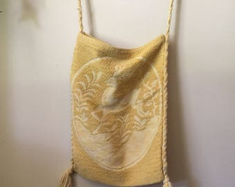 Vintage Fairytale Yellow Tote Bag