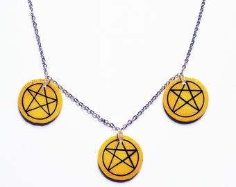 Tarot Necklace | Pentacles
