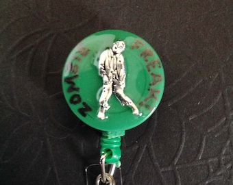 Zombie Freak badge reel / ID holder