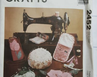 McCall's Sewing Room Crafts Pattern  #2452