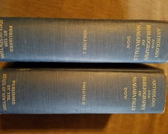 Anthology and Bibliography of Niagara Falls by Dow