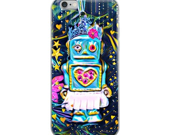 Robot Girl iPhone Case