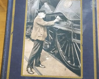 Railways - Shown to the Children - Vintage Illustrated Hardcover Children's Book