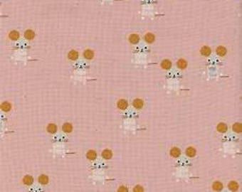Sunshine by Alexia Abegg for Cotton & Steel - Little Friends - Pink - FQ - Fat Quarter - Cotton Quilt Fabric