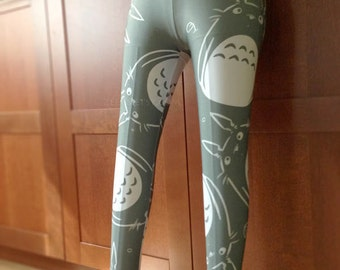 Totoro Grey leggings