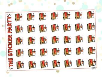 McDonald's Planner Stickers