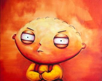 Stewie (ART PRINT)