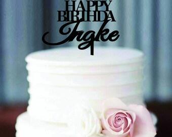 Bithday Cake Topper Topper/ Customized  Bithday Cake Topper /Bithday party