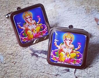 Ganesha Cufflinks