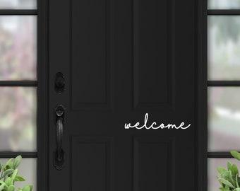 Welcome Front Door Wall Art