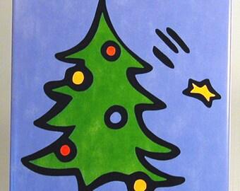 Christmas Tree Trivet - 50% Off Ceramic Trivet Sale