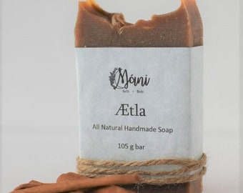 All Natural Handmade Cinnamon Soap