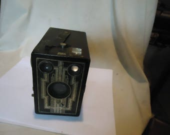 Vintage Six-16 Brownie Black Box Camera, collectable