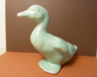 Antique Duck Planter, Pottery