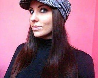 Women's Newsboy Cap Checkered Cap
