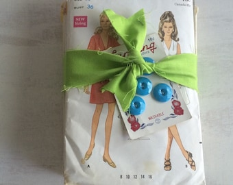 A Vintage Bundle of 6 Sewing Patterns From the 1960s-1970s