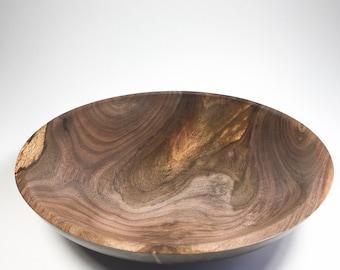 Black Walnut Bowl, Wood Bowl, Woodturning, Holiday Gift, Fruit Bowl, Candy Bowl