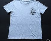 T-shirt crystals / man / ...