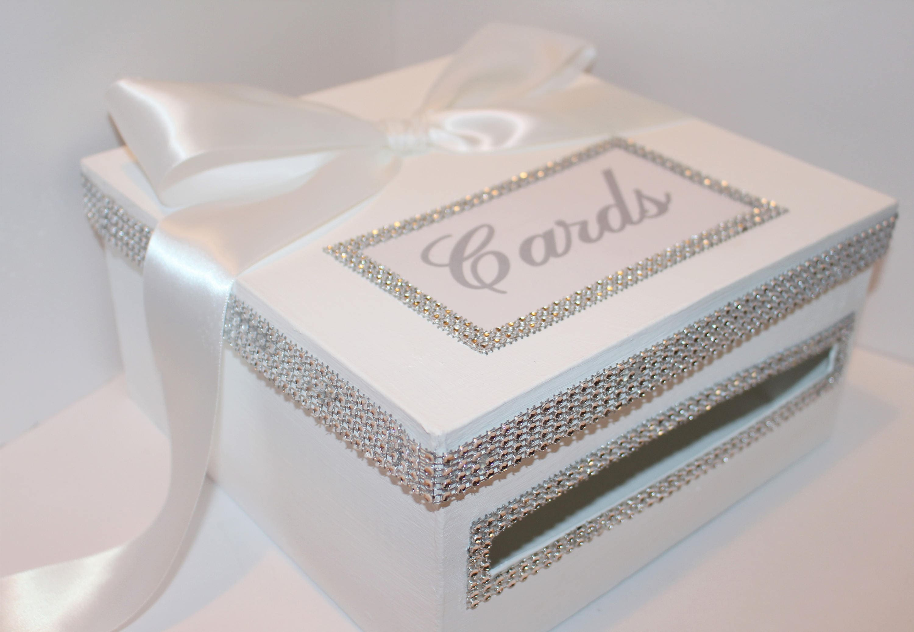 SALE BLING WEDDING card box Wedding money box Gift Box