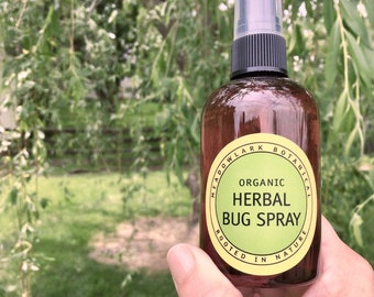 Organic Kids Bug Spray | Natural Bug Spray for Kids | DEET Free Mosquito Repellent | Bug Repellent | Tic Spray | Bug Spray for Dogs