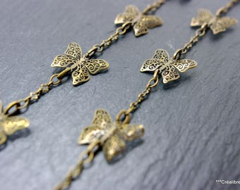 chain Butterfly 10 mm 12 centimeters