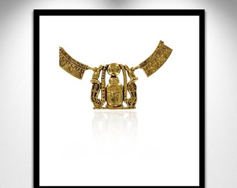 Pectoral Necklace Egyptian Shoshenq _ necklace Egyptian Pectoral Sheshong