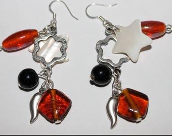 Earring dangle charm,